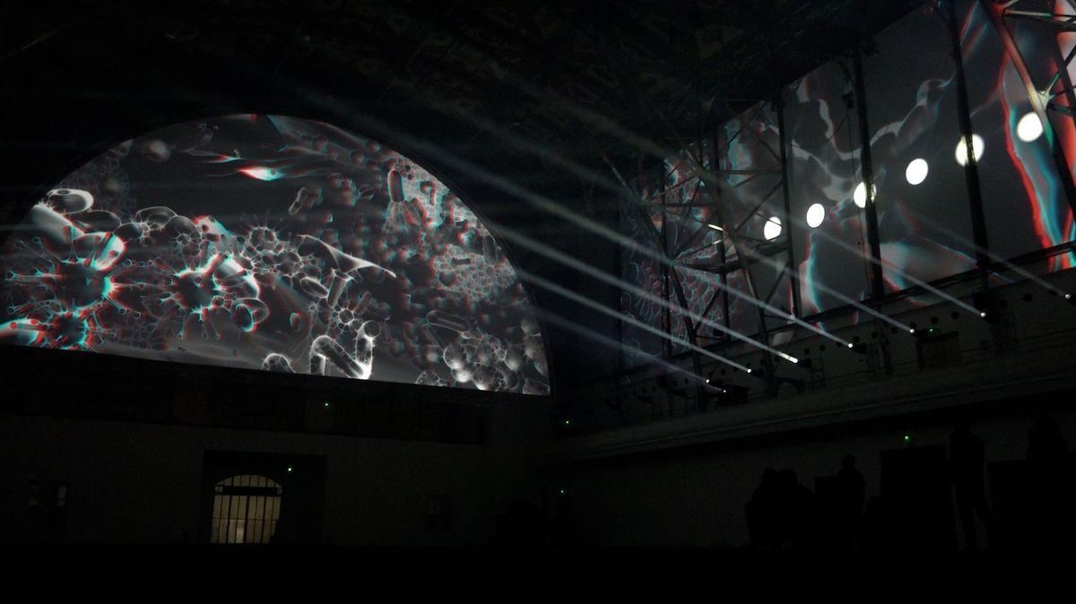 Novinkou 9. ročníku je také velkolepá 3D projekce, která je zatím největší v historii konání festivalu.