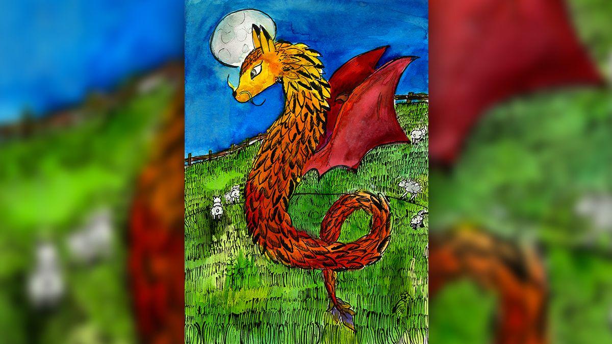 Vendulka má draka v knize Rowlingové