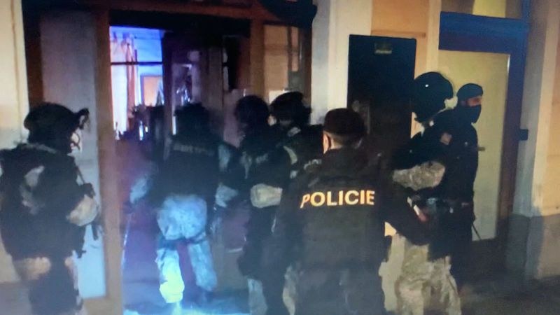 Zásahovka vzala v noci útokem budějovický bar