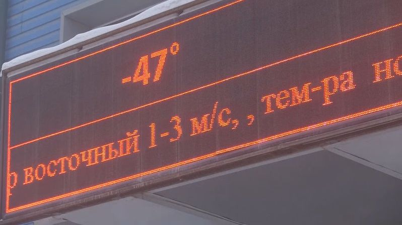 Jakutsko sevřel třeskutý mráz. Místní ale mají na teploty okolo –50 osvědčený recept