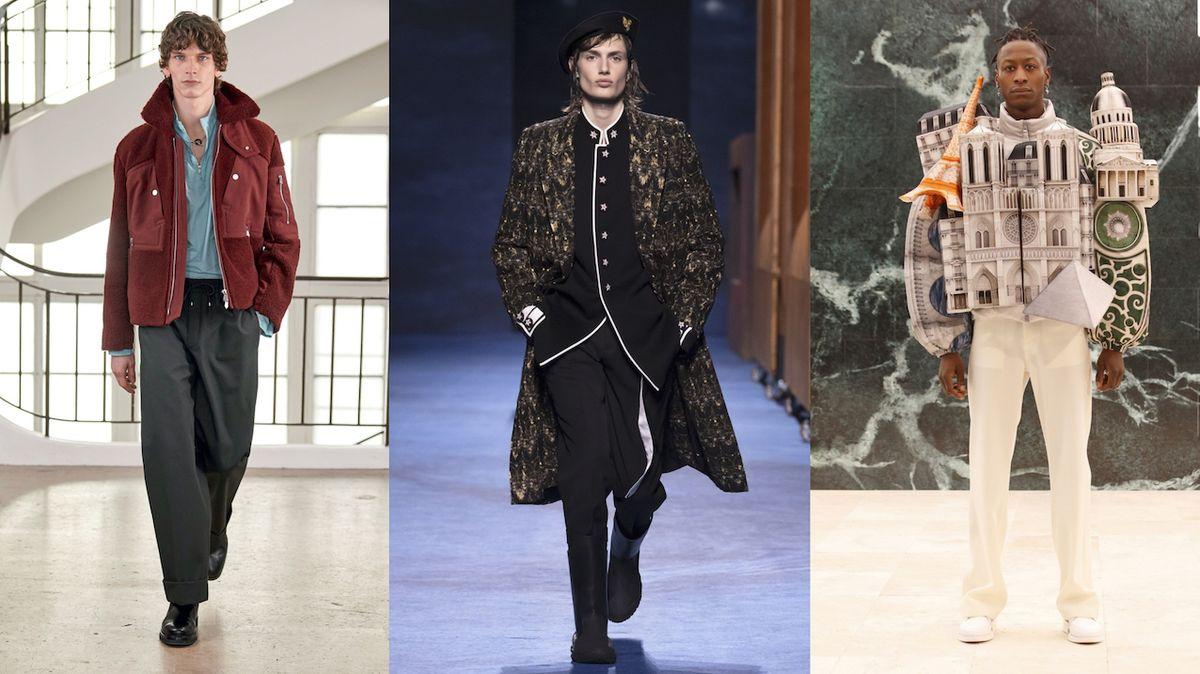 Jaké trendy budou vládnout pánské módě podle přehlídkových mol