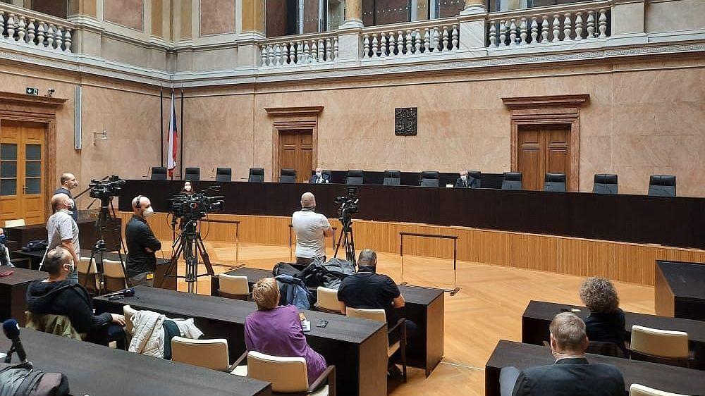 Vyhlášení verdiktu Ústavního soudu (ilustrační foto)