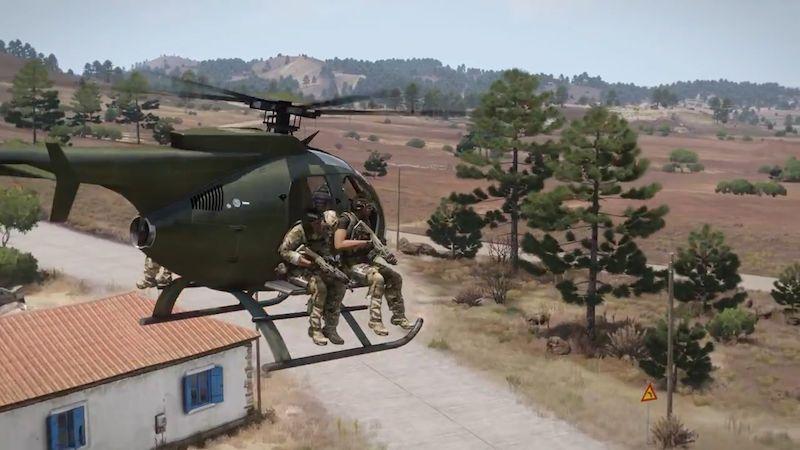 Česká hra Arma 3 dostala nové rozšíření. Poslouží dobré věci