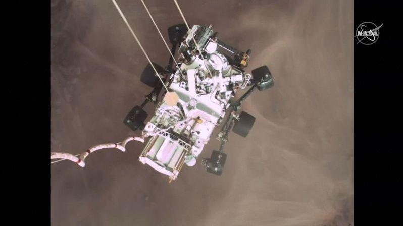 NASA zveřejnila první zvuky z Marsu