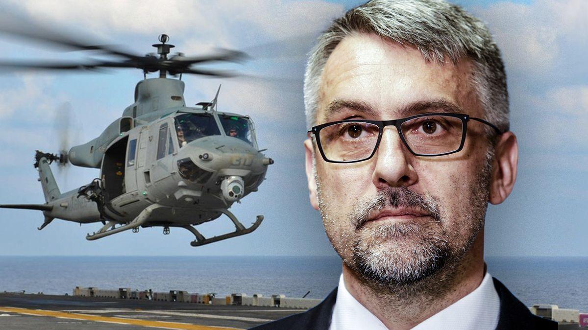 Pokuta půl miliardy pro obranu za tendr na vrtulníky platí, potvrdil šéf ÚOHS