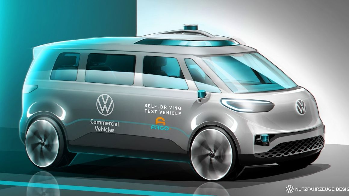 Minibus I.D. Buzz bude prvním autonomním volkswagenem