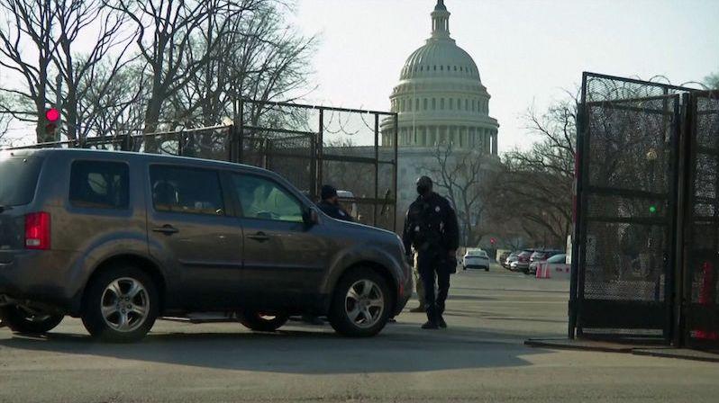 Washington se 4. března obával dalšího útoku na Kapitol. Zesílená opatření pokračují