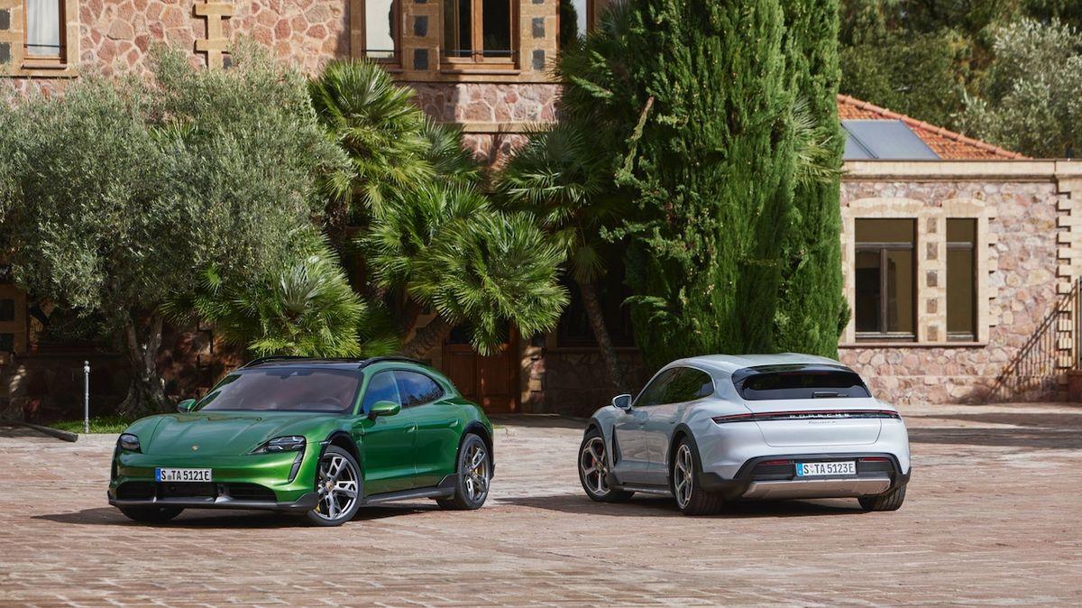 Porsche představuje Taycan Cross Turismo, elektrické kombi do lehkého terénu