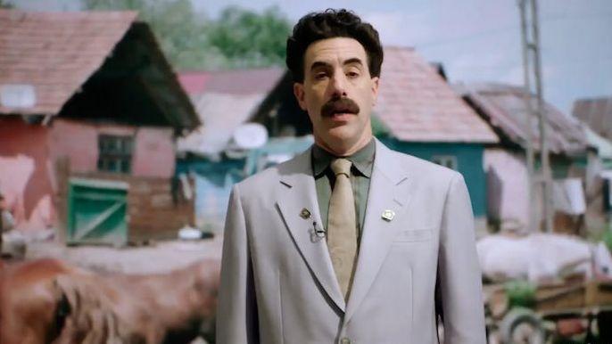 Sacha Baron Cohen alias Borat