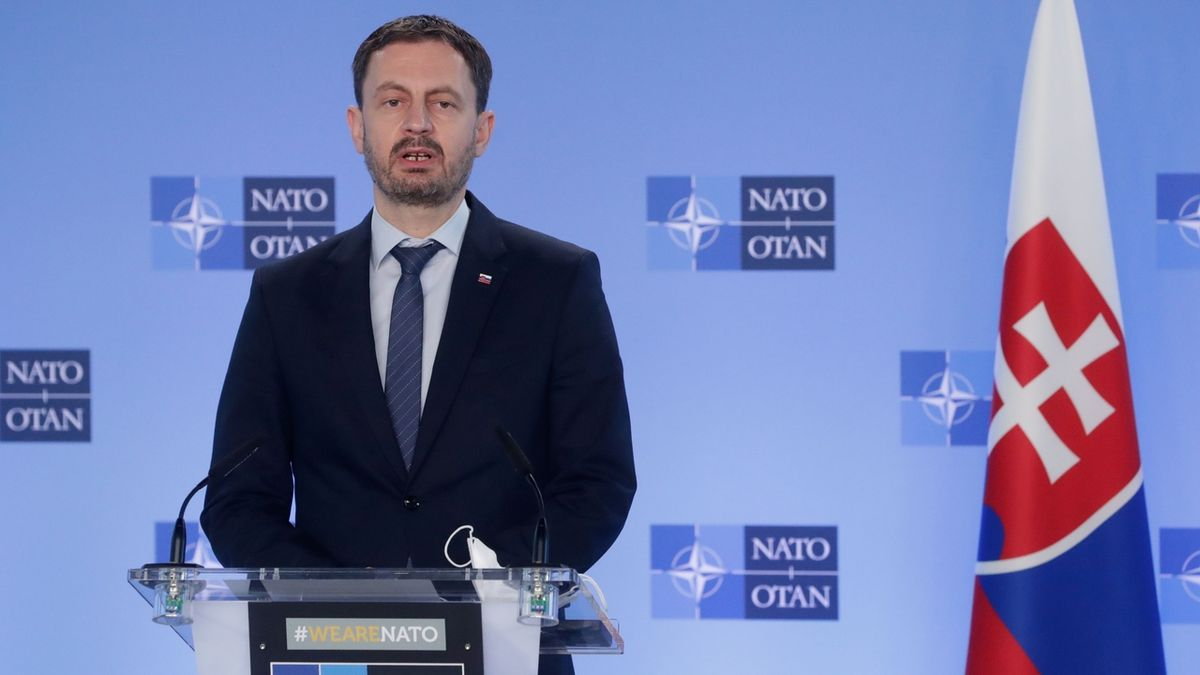 Vláda Eduarda Hegera získala důvěru slovenského parlamentu