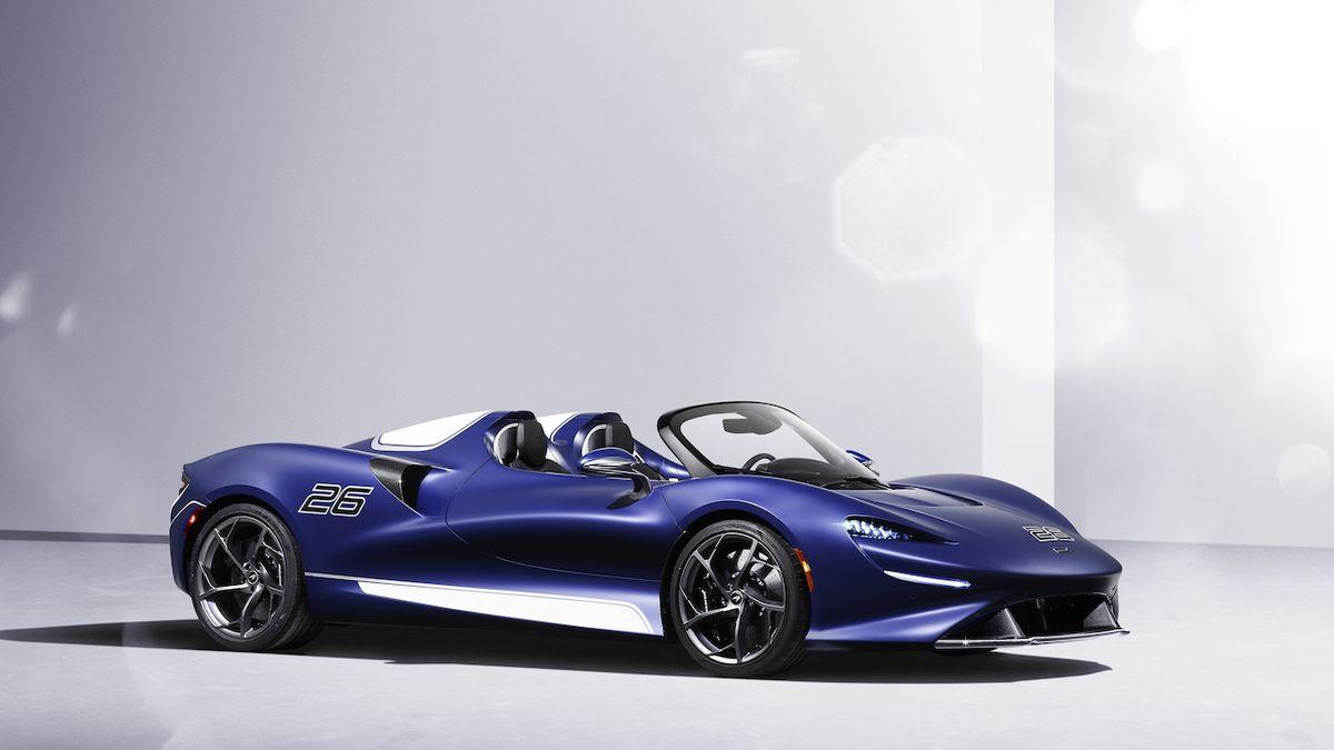 McLaren Elva bude přívětivější, dostane čelní sklo