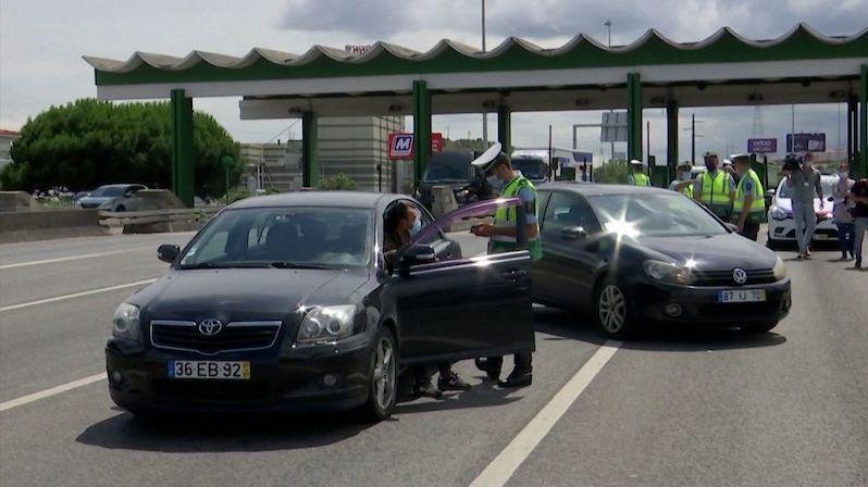 Oblast Lisabonu je uzavřena, Portugalsko čelí nárůstu nakažených