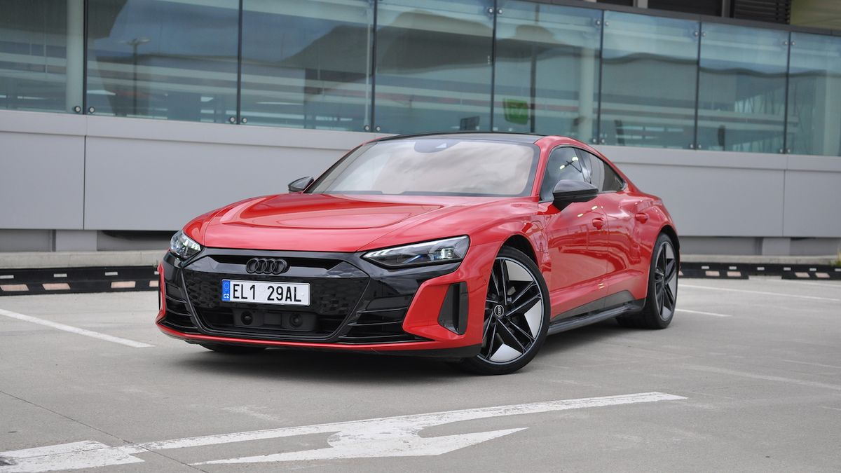 Test Audi RS e-tron GT: Budoucnost je tu