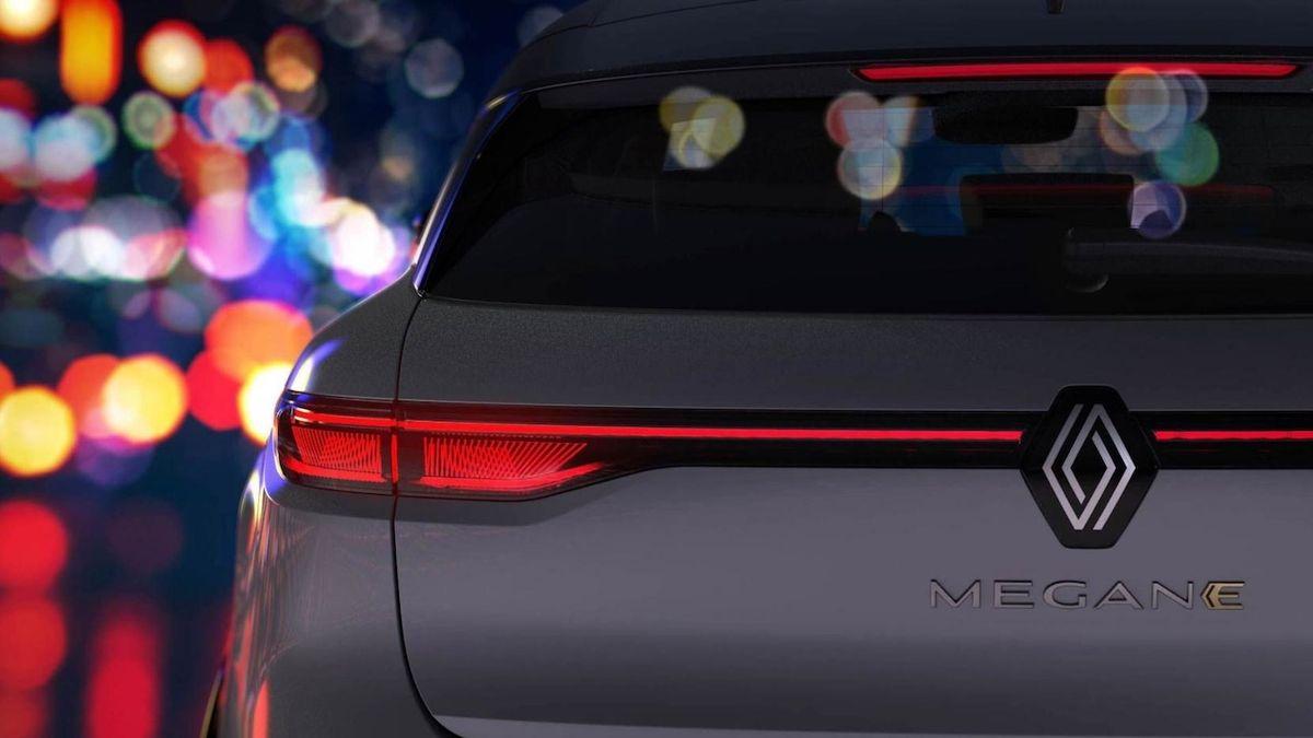 Renault dále poodhaluje elektrickou budoucnost modelu Mégane