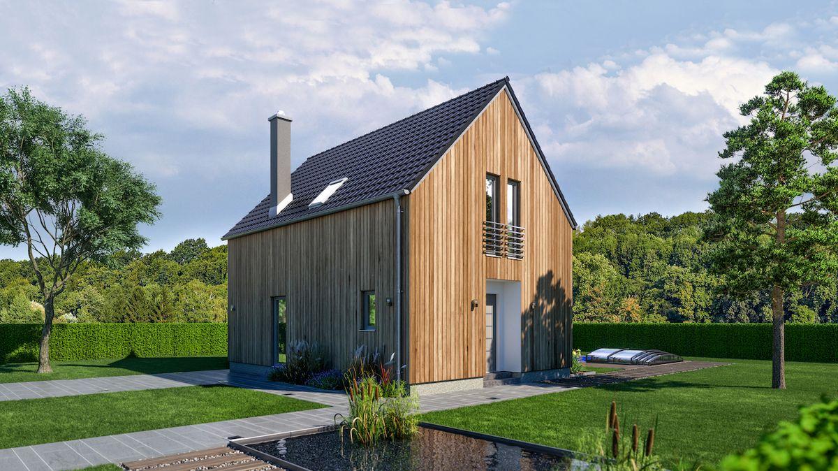 Kvalitní dřevostavba nabízí stejnou životnost i akustický komfort jako zděné domy
