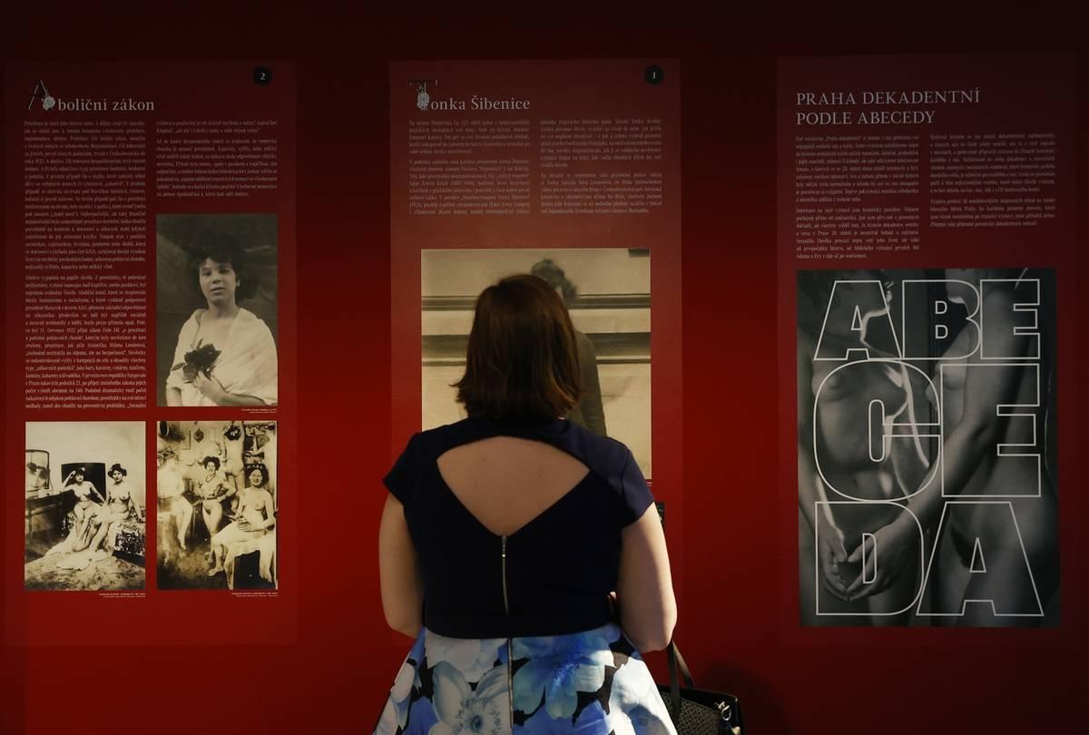 Expozice je řazena podle abecedy, každému písmenu odpovídá jedno téma.