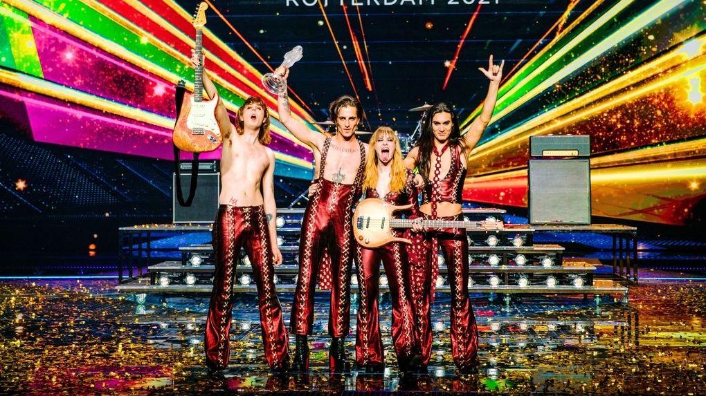 Vítězové Eurovize Måneskin už jsou v Česku. Večer vystoupí na Rock for People