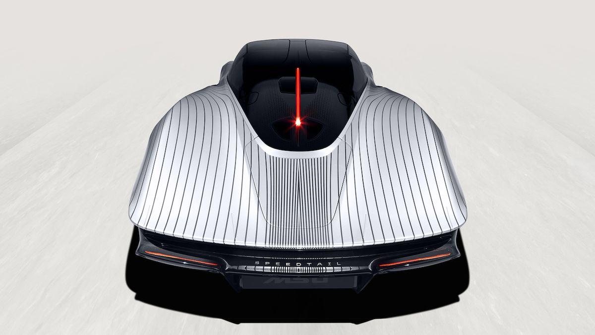 Speciální lak McLarenu Speedtail Albert vznikal čtvrt roku