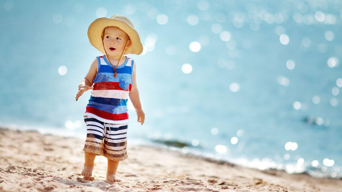 Dětská chodidla potřebují péči