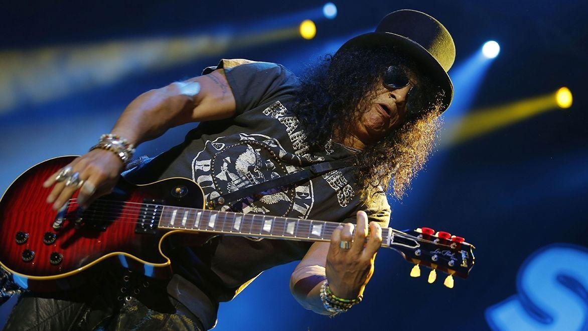 Kytarista Slash je už patnáct let zcela střízlivý