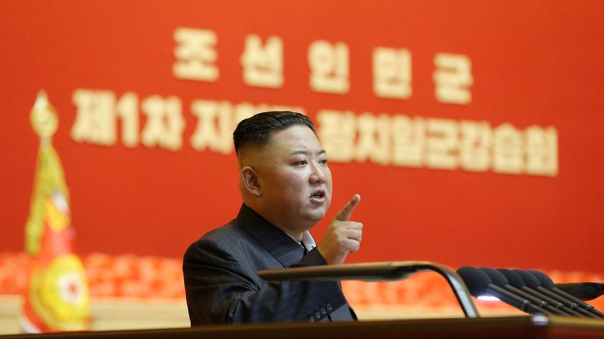 Jsme na tom bledě, přiznal před straníky Kim