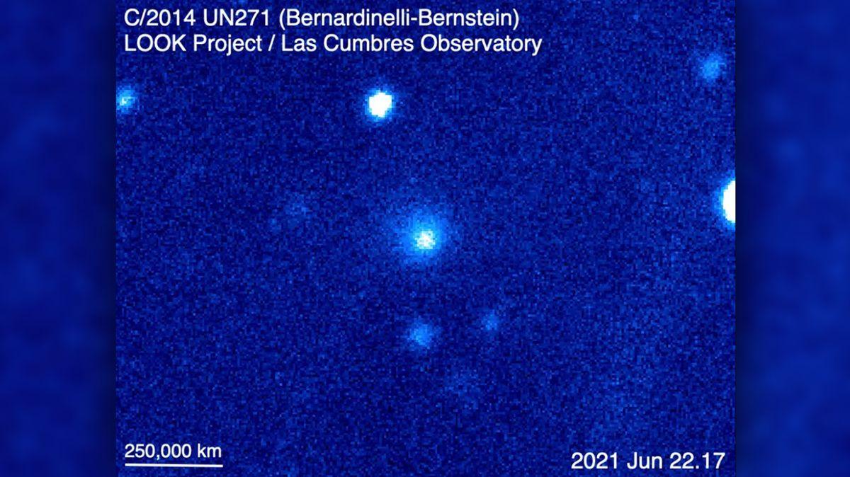 Sluneční soustavou uhání největší kometa, jakou jsme kdy viděli