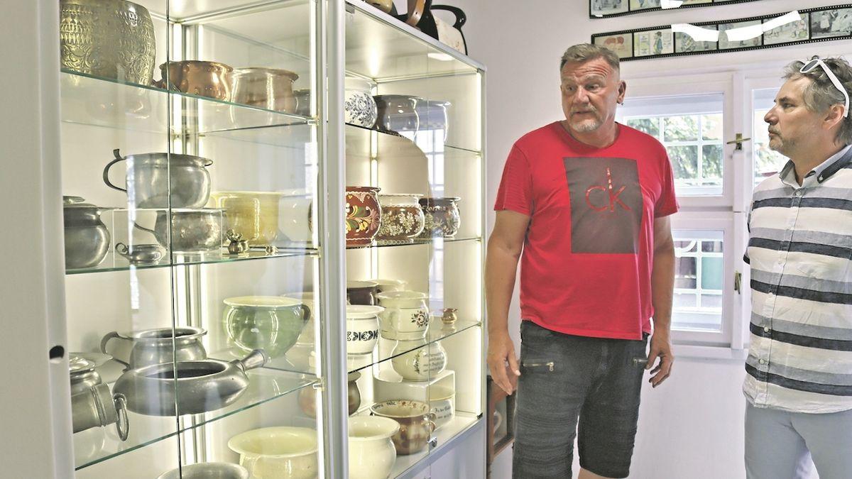 Máme největší muzeum nočníků na světě, říká majitel
