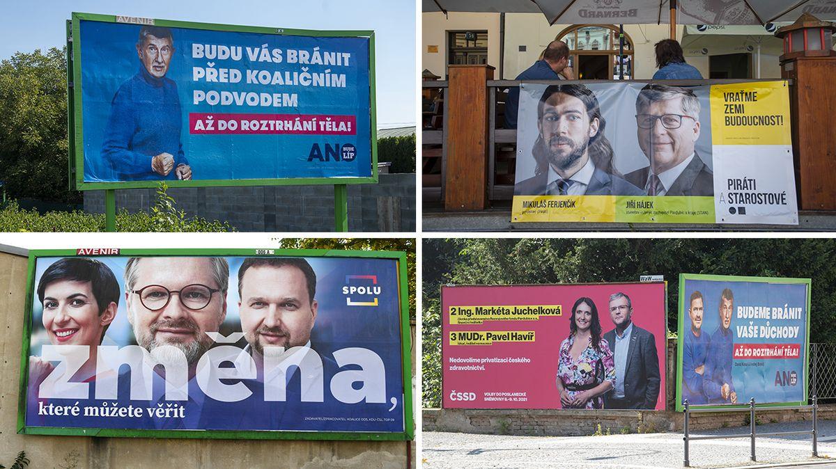 TI: Nejtransparentnější kampaň mají Piráti se Starosty a koalice Spolu