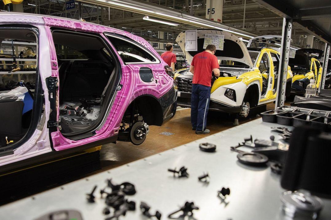 Výroba v nošovickém Hyundai