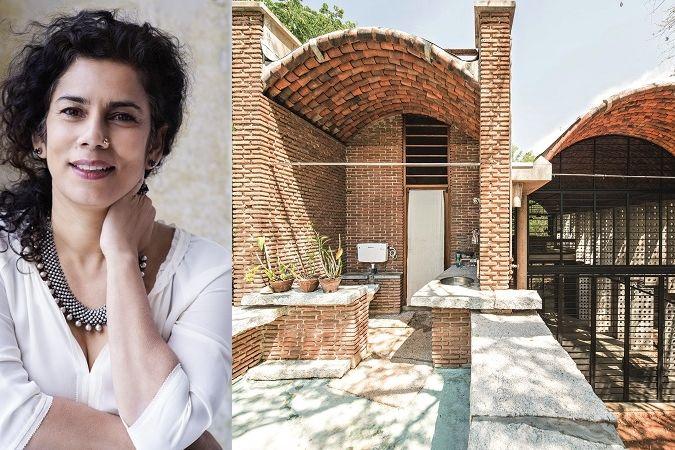 Oceněná architektka Anupama Kundoo a její Wall House v lokalitě s názvem Auromodele.