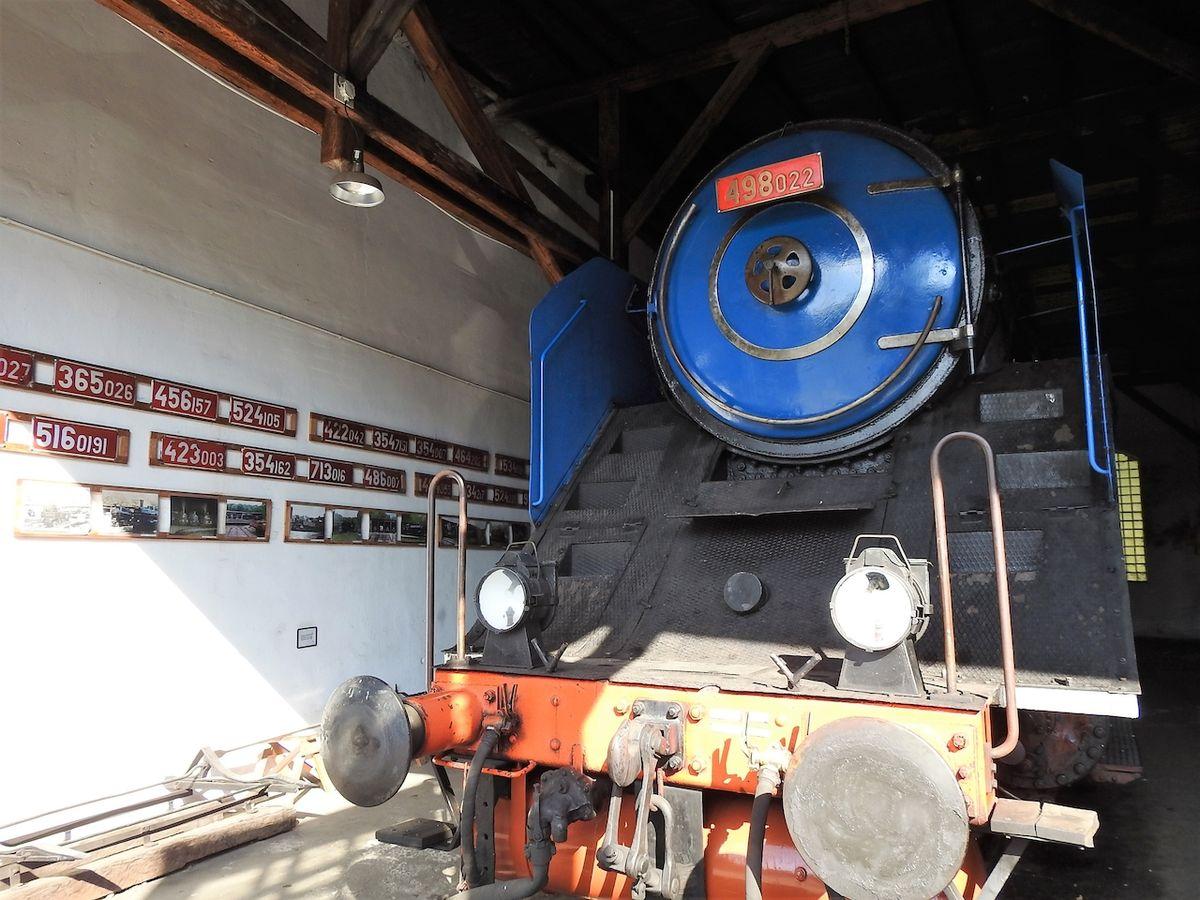 Parní rychlíková lokomotiva Albatros