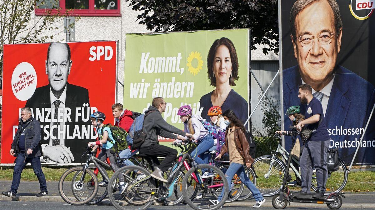 Němci volí éru po Merkelové