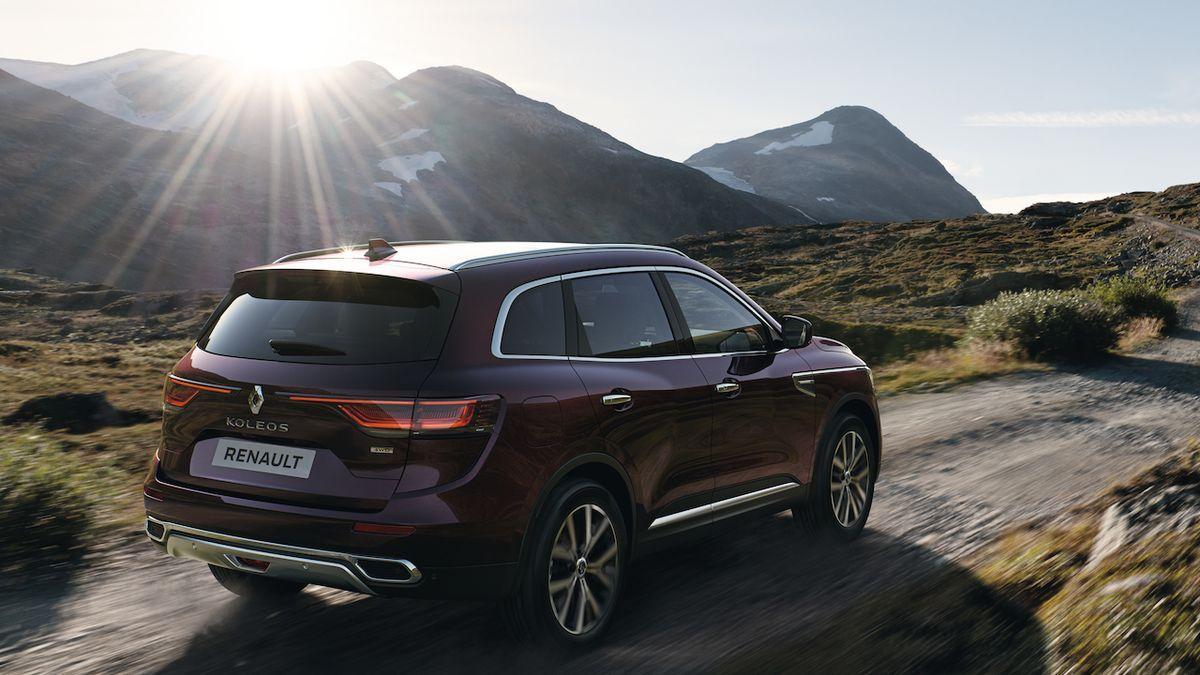 Zmodernizovaný Renault Koleos přijíždí na český trh
