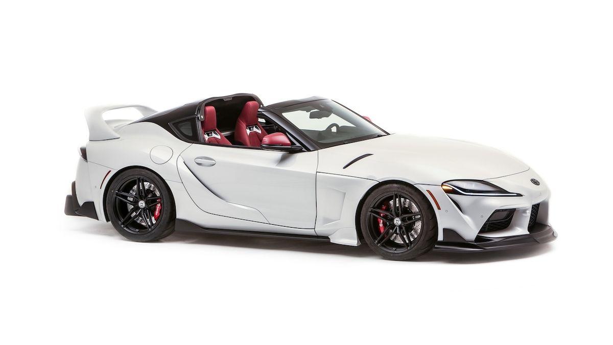 Toyota představila otevřenou Supru, ovšem jen jako koncept
