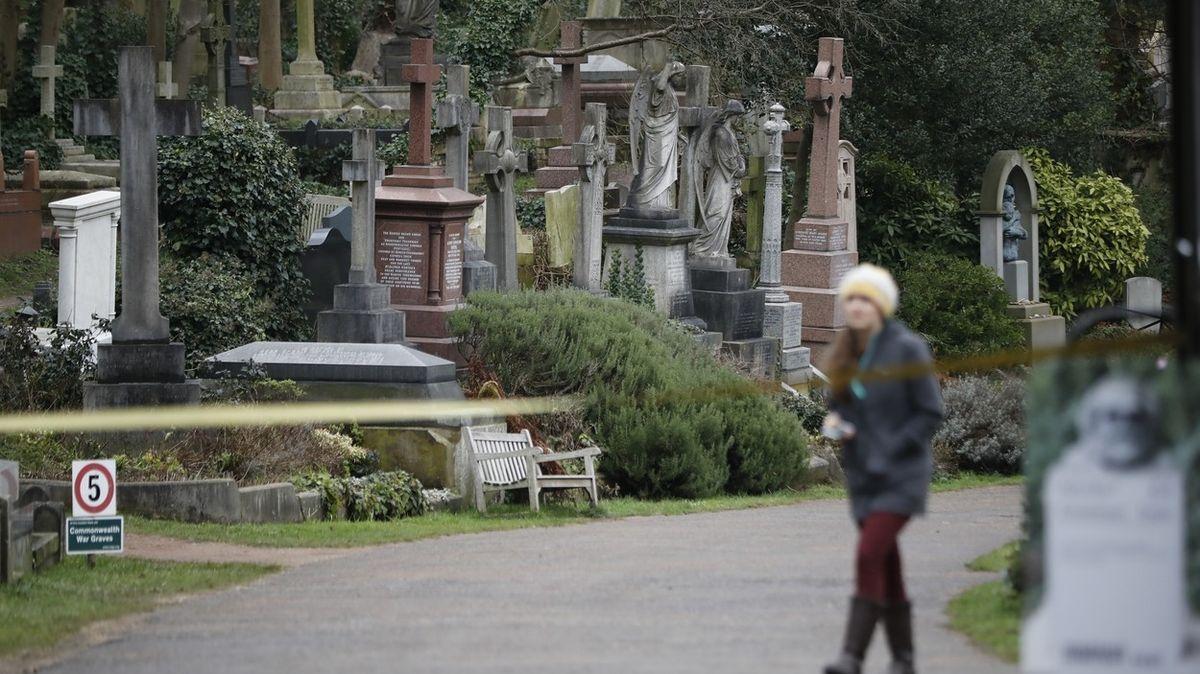Londýnský hřbitov Highgate ohrožuje změna klimatu