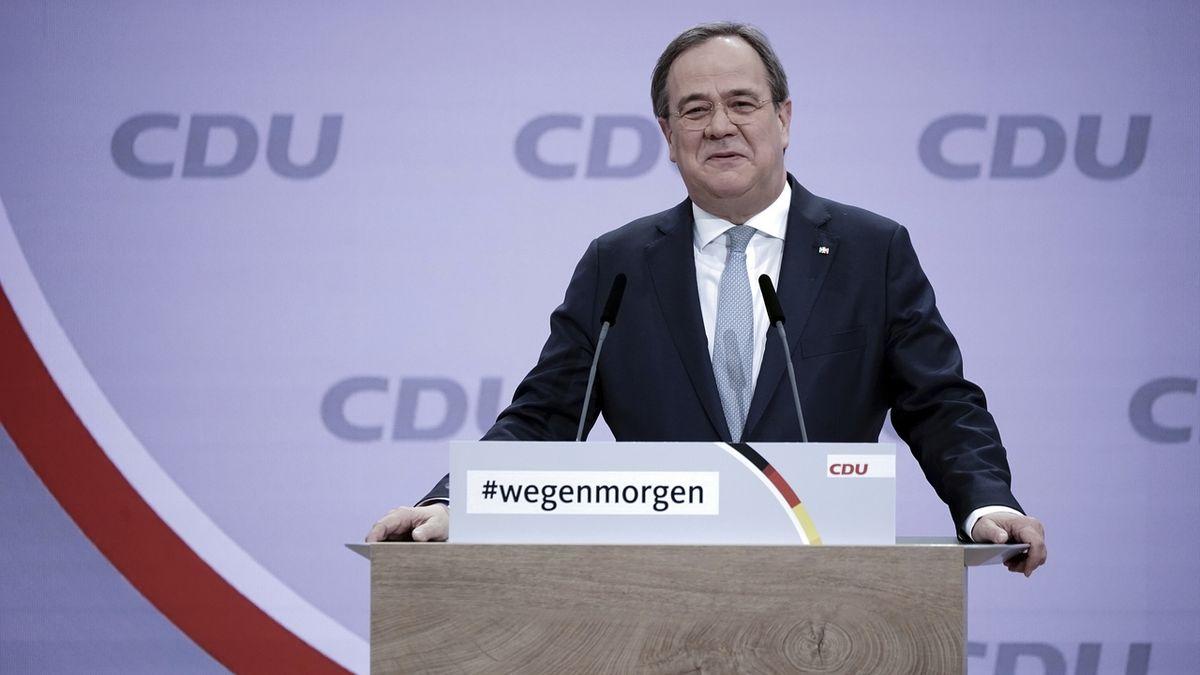 Novým předsedou německé vládní CDU se stal Armin Laschet