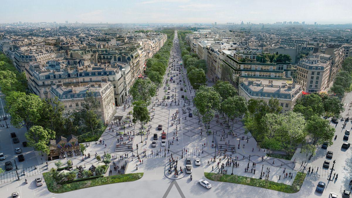 Paříž schválila proměnu Champs-Élysées
