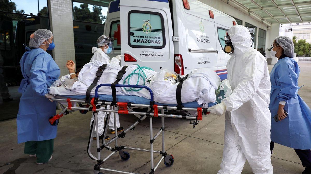 Brazilská sestra se podruhé nakazila novou mutací koronaviru, průběh byl horší