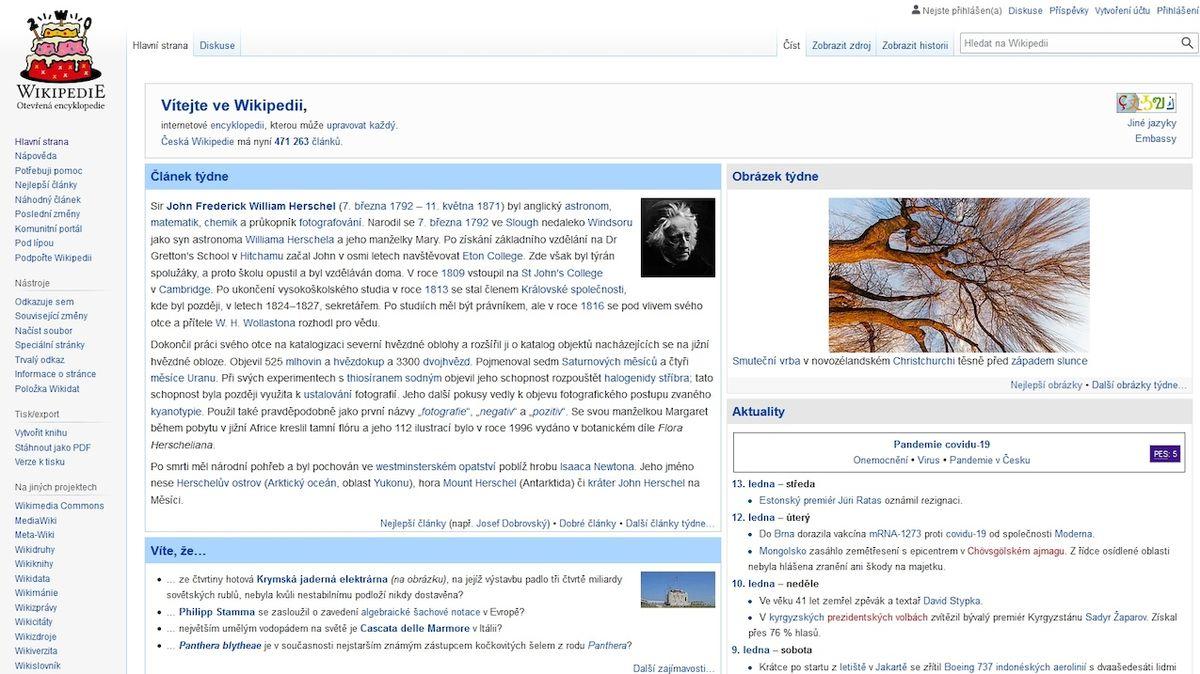 O českou Wikipedii pečují stovky lidí, spor o údaj trvá i měsíce