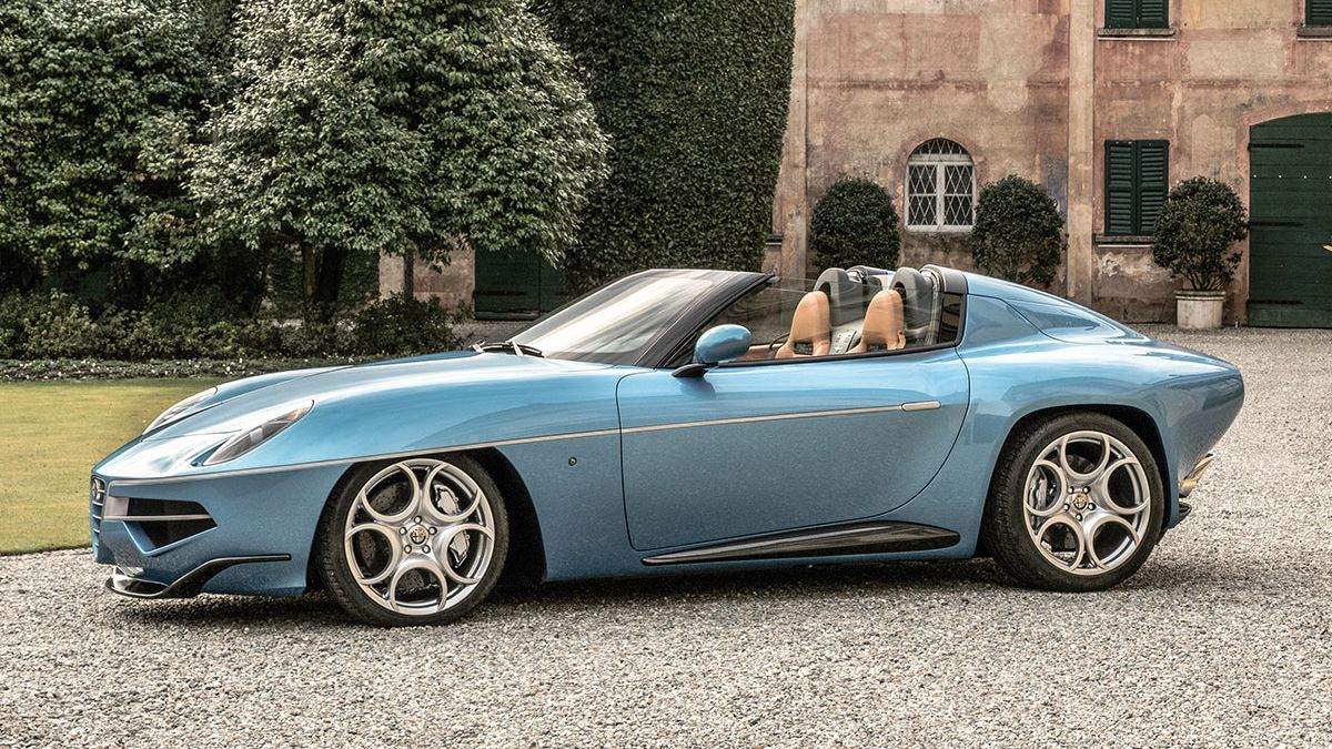 Na prodej jsou dva ze sedmi vyrobených vozů Alfa Romeo Disco Volante Spyder