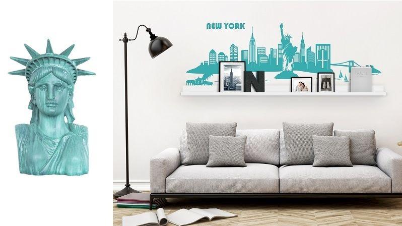 New York si můžete užít i v interiéru. Stačí zvolit správné doplňky