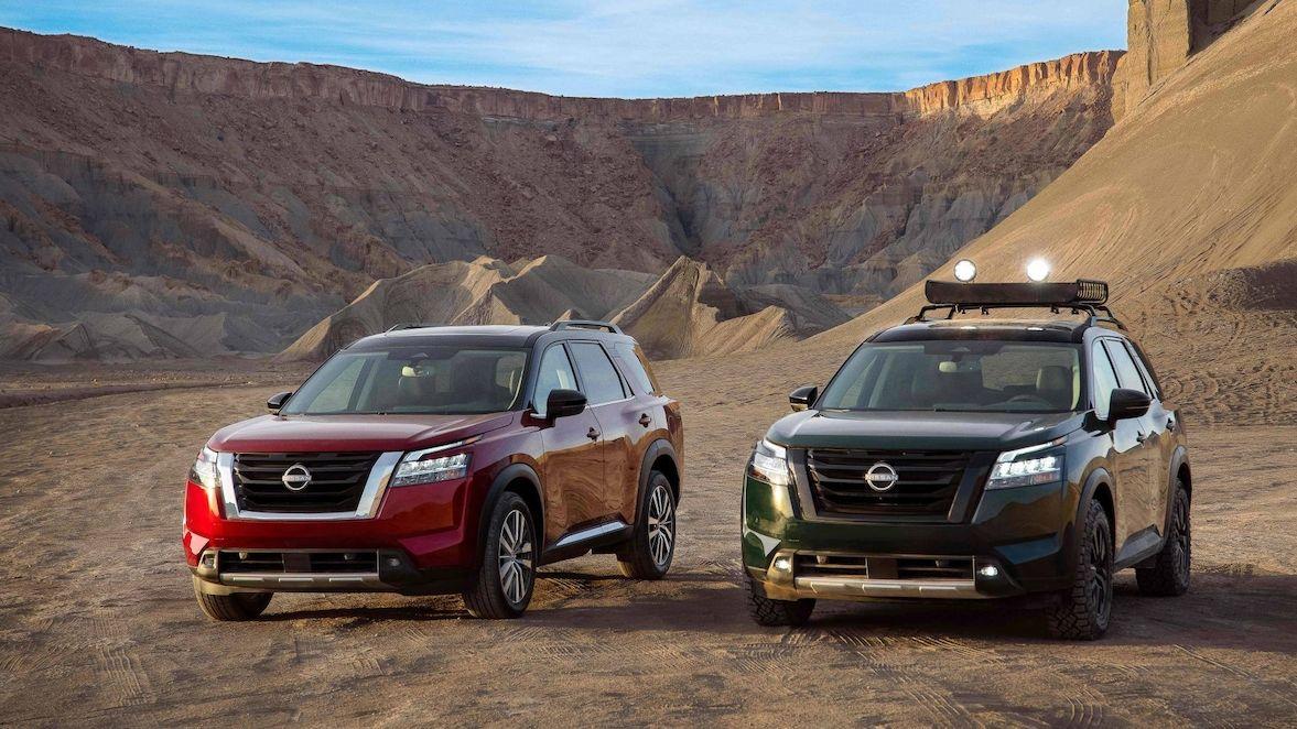 Nový Nissan Pathfinder sveze až osm Američanů