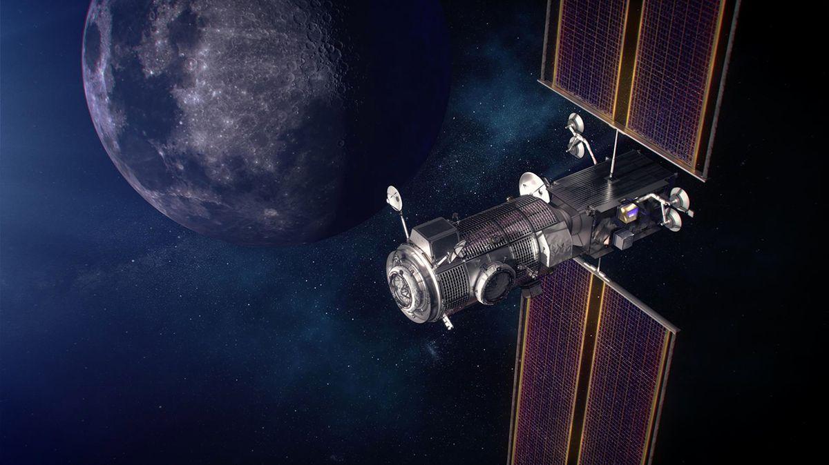 Dva základní moduly stanice Gateway dopraví k Měsíci SpaceX, rozhodla NASA