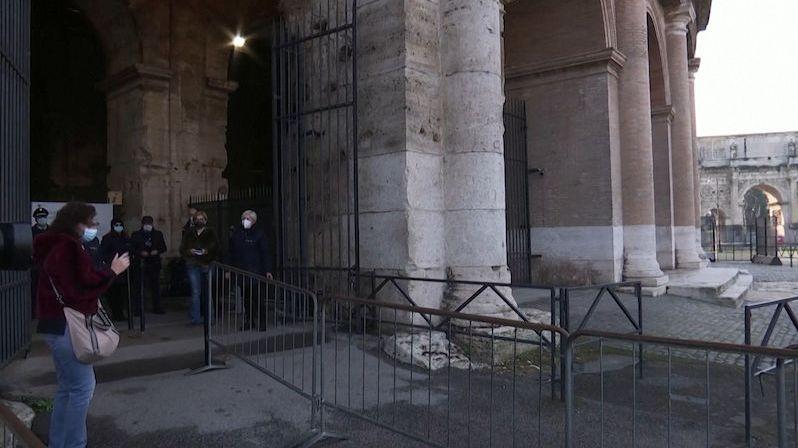 V Římě a Vatikánu se po třech měsících otevřela muzea