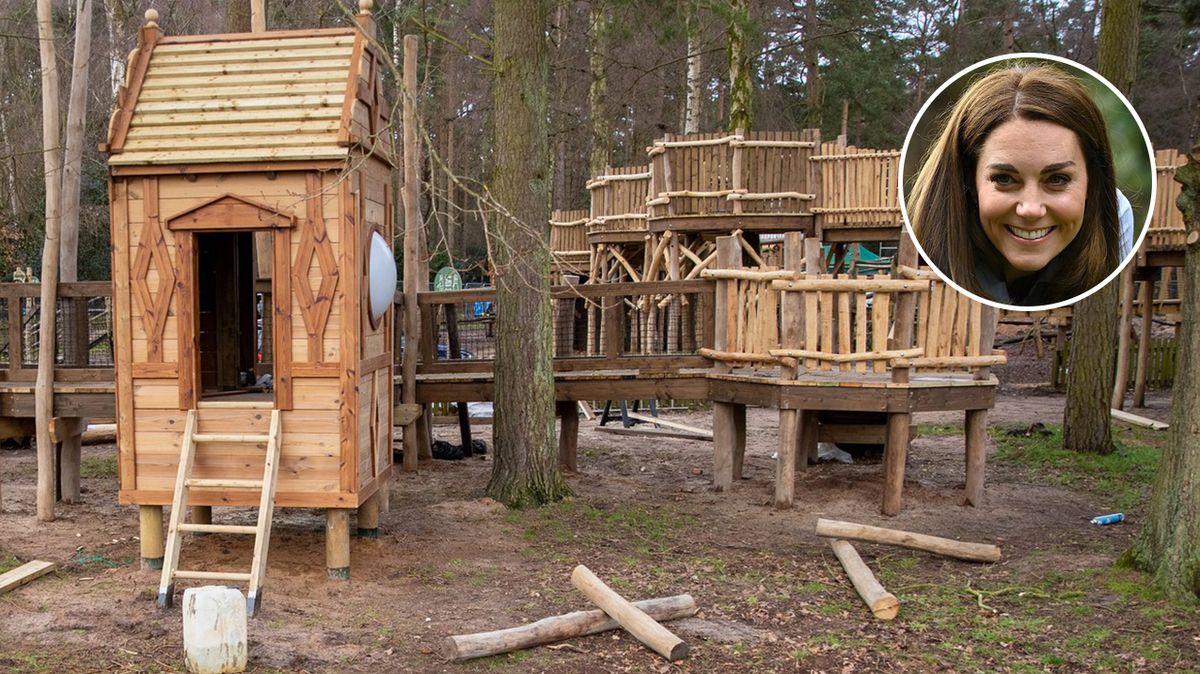 Vévodkyně Kate navrhla hřiště pro děti
