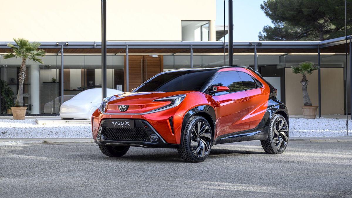 Toyota Aygo X Prologue předznamenává novou generaci miniauta z Kolína