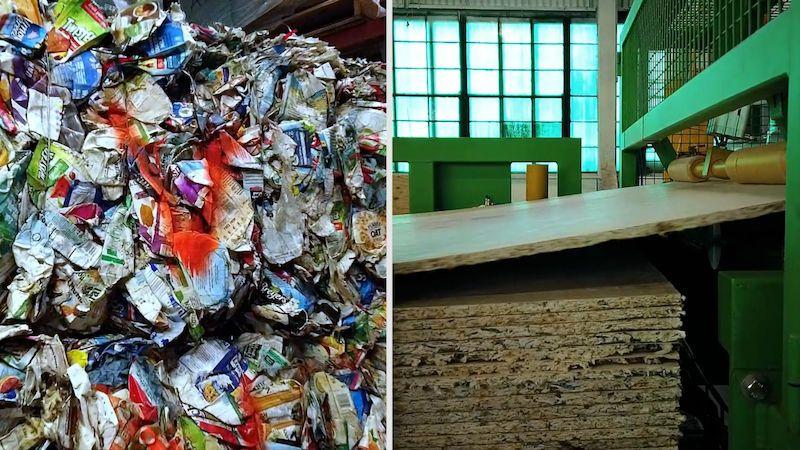 Z komunálního odpadu stavební materiál: unikátní přeměnu vynalezla firma z Moravy