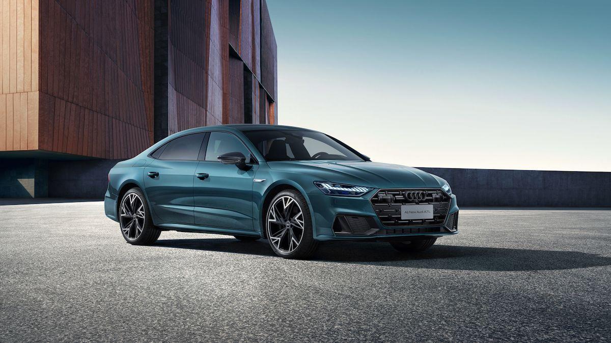 Audi A7 má v Číně prodlouženou verzi, o myšlenku čtyřdveřového kupé přichází