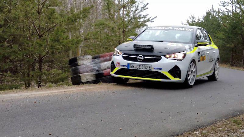 Jak zní závodní elektromobil? Opel Corsa-e Rally má speciální reproduktory