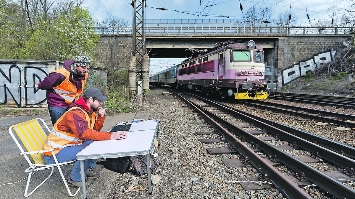 Nový senzor na kolejích ochrání životy